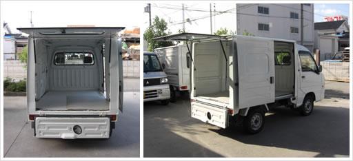 軽トラック写真